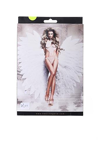 Body lingerie blanc BACI pour femme