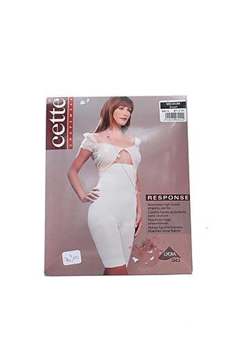 Panty beige CETTE pour femme