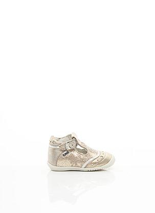 Sandales/Nu pieds beige GBB pour fille
