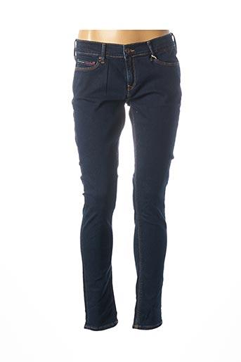 Jeans coupe slim bleu TOMMY HILFIGER pour femme
