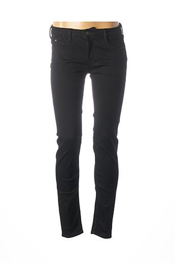 Jeans skinny noir LE TEMPS DES CERISES pour femme