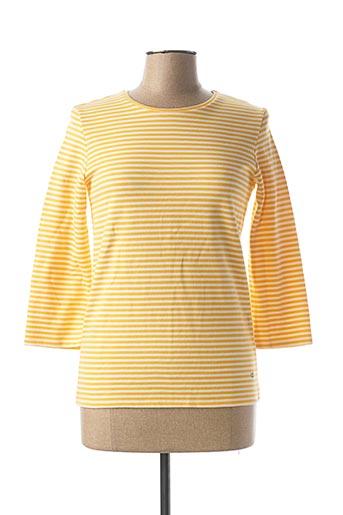 T-shirt manches longues jaune KATMAI pour femme