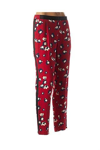 Pantalon casual rouge IMPERIAL pour femme