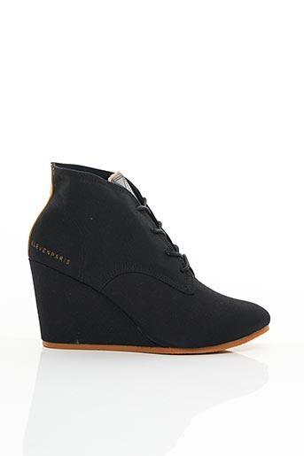 Bottines/Boots noir ELEVEN PARIS pour femme