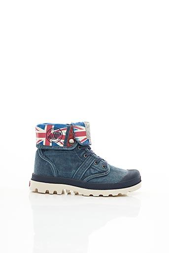 Bottines/Boots bleu PALLADIUM pour garçon