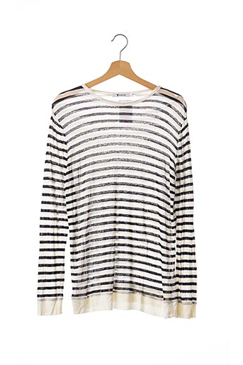 Pull col rond blanc ALEXANDER WANG pour femme