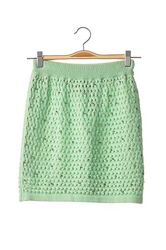 Jupe courte vert ALEXANDER MCQUEEN pour femme