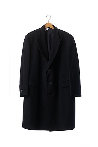 Manteau long bleu YVES SAINT LAURENT pour homme