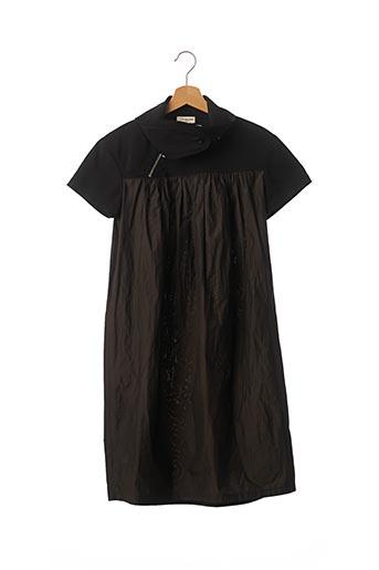 Robe mi-longue noir DRIES VAN NOTEN pour femme