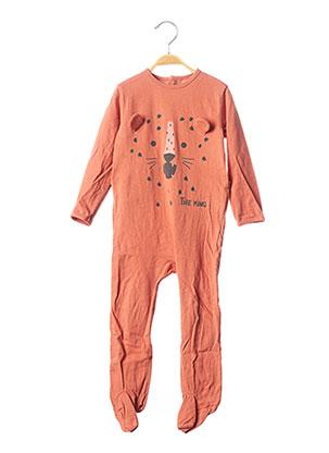 Pyjama orange KIABI pour garçon