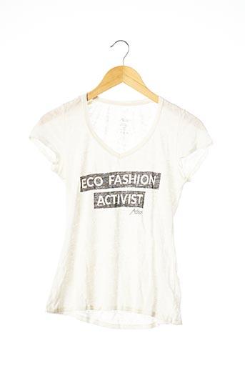 T-shirt manches courtes beige AATISE pour femme