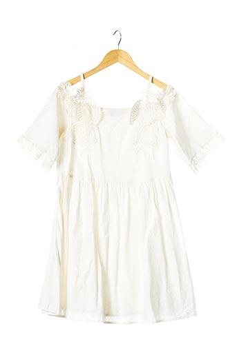 Robe courte beige ASOS pour femme