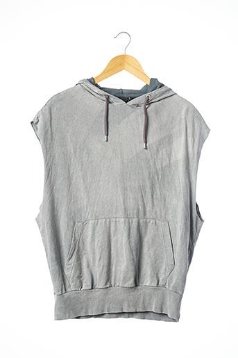 Sweat-shirt gris ASOS pour femme