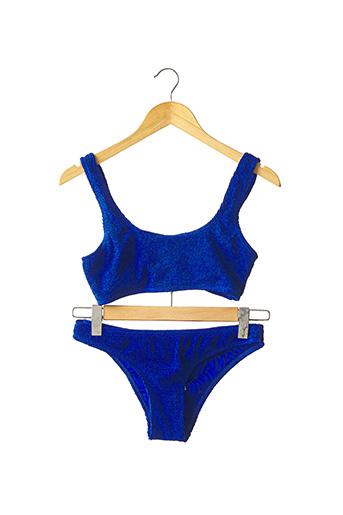 Maillot de bain 2 pièces bleu PRIMARK pour femme