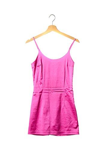 Robe courte rose CULTNAKED pour femme