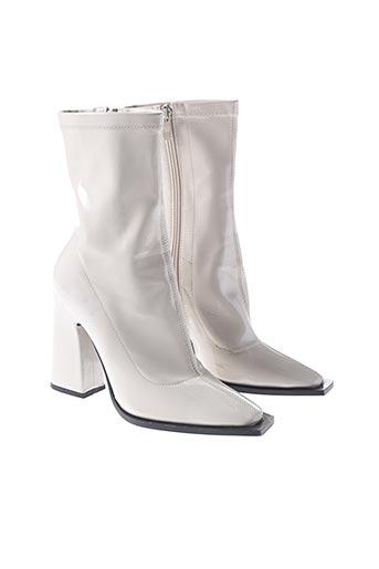 Bottines/Boots beige PRETTY LITTLE THING pour femme