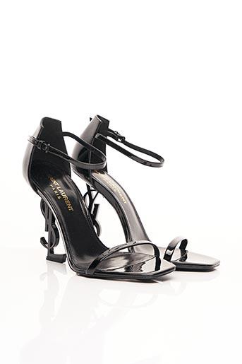 Sandales/Nu pieds noir YVES SAINT LAURENT pour femme