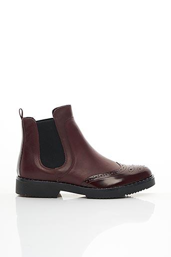Bottines/Boots rouge DUNE LONDON pour femme