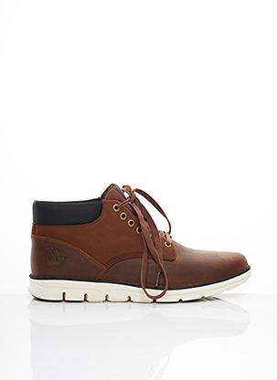 Chaussons/Pantoufles marron TIMBERLAND pour homme
