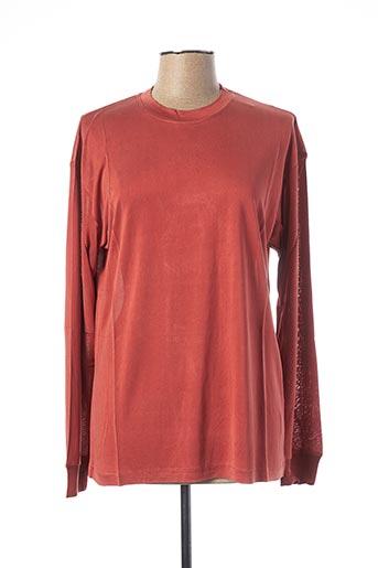 T-shirt manches courtes rose EQUIPMENT pour femme