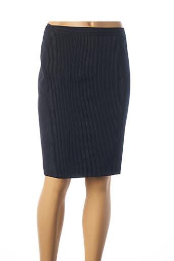 Jupe mi-longue bleu TEENFLO pour femme