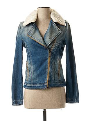 Veste en jean bleu SALSA pour femme