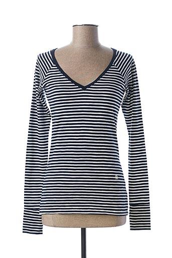 T-shirt manches longues bleu G STAR pour femme
