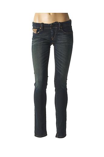 Jeans coupe slim bleu DIESEL pour femme