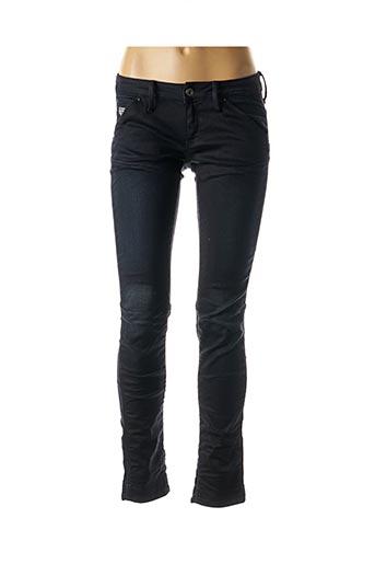 Jeans coupe slim bleu G STAR pour femme