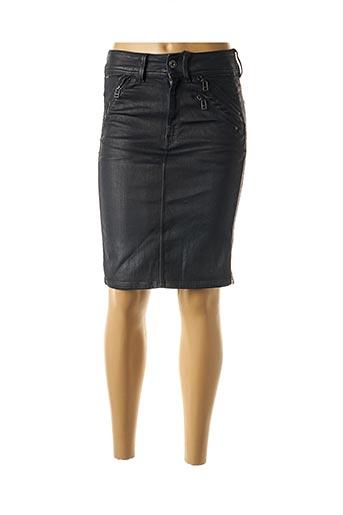Jupe mi-longue bleu G STAR pour femme