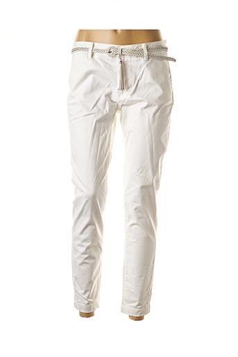 Pantalon 7/8 beige SALSA pour femme
