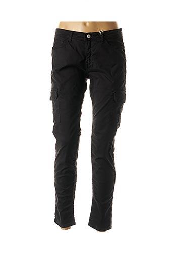 Pantalon 7/8 noir AVIDA DOLLARS pour femme