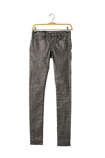 Pantalon casual gris GUESS pour femme