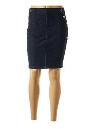 Jupe courte bleu GUESS pour femme