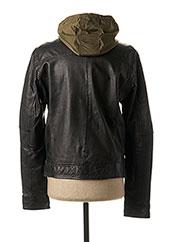 Veste en cuir noir OAKWOOD pour homme seconde vue