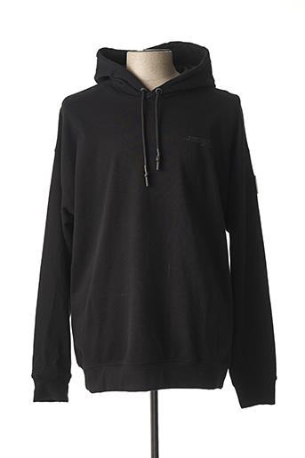 Sweat-shirt noir GERTRUDE + GASTON pour homme
