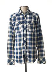 Chemise manches longues bleu G STAR pour homme seconde vue