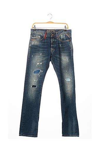 Jeans coupe droite bleu REPLAY pour femme