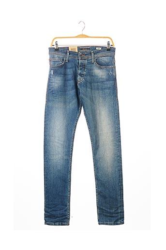 Jeans coupe slim bleu SALSA pour homme
