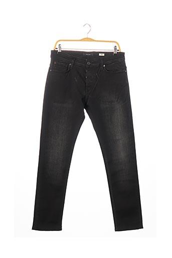 Jeans coupe slim noir SALSA pour homme