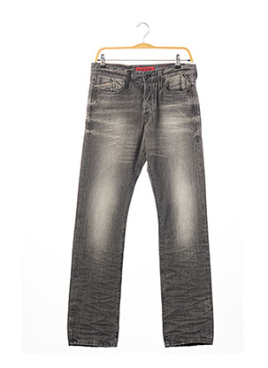 Jeans coupe droite gris REPLAY pour homme