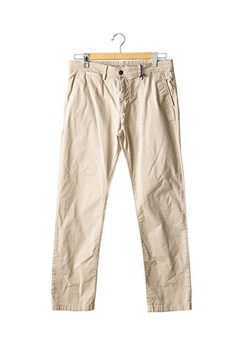 Pantalon chic beige SALSA pour homme