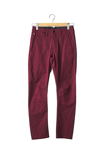 Pantalon chic rouge G STAR pour homme