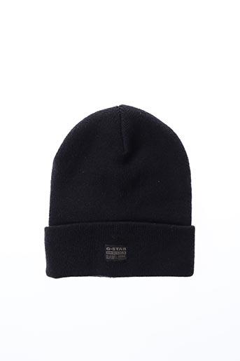Chapeau bleu G STAR pour homme