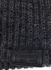 Bonnet gris G STAR pour femme seconde vue