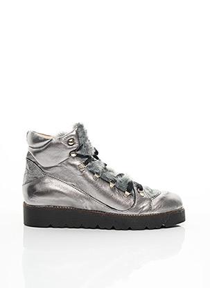 Baskets gris YEP pour fille