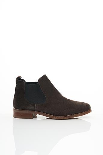 Bottines/Boots marron GADEA pour femme