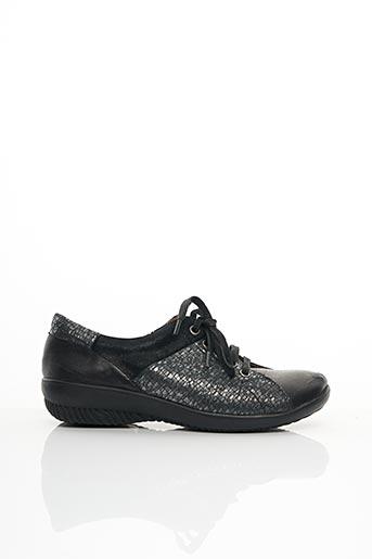 Chaussures de confort noir SWEET pour femme