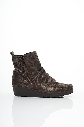 Bottines/Boots gris PAULA URBAN pour femme