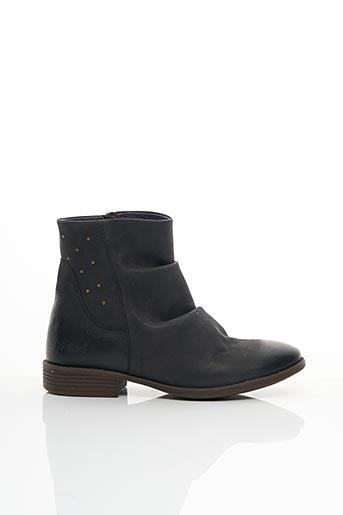 Bottines/Boots noir KICKERS pour femme